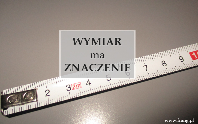 Angielskie słowa dotyczące wymiarów - length, width, height, depth.