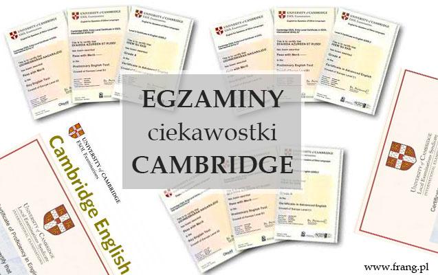 Egzaminy Cambridge English - 4 fakty, których nie wiesz.