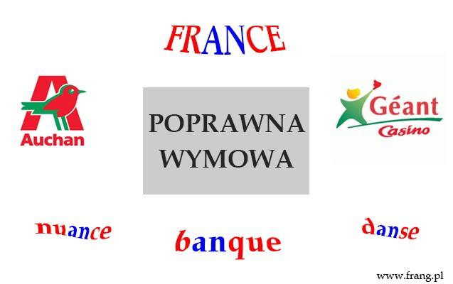 Jak wymawiać Auchan, Geant, czyli francuskie słowa zawierające ''an''?