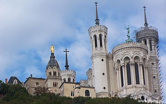 Fotografia ''Basilique Notre-Dame de Fourviere'' wLyonie.