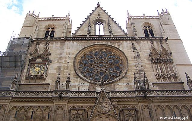 Fotografia ''Cathedrale Saint-Jean Baptiste'' wLyonie.