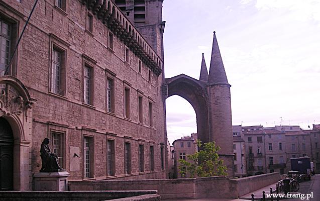 Fotografia '' Cathedrale Saint-Pierre'' wMontpellier.