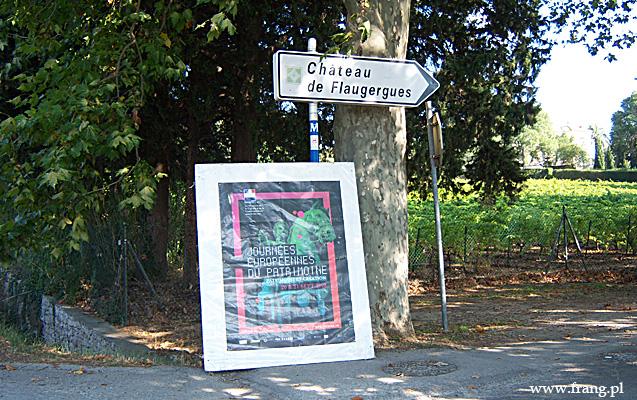 Fotografia ''Chateau de Flaugergues'' wMontpellier.