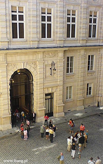 Fotografia ''Cour des comptes'' wParyżu.