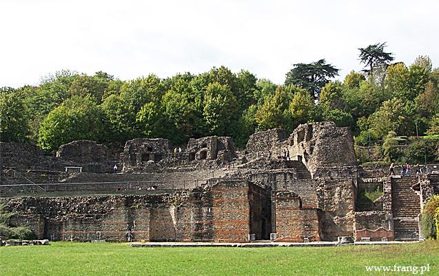 Fotografia ''Theatres romains de Fourviere'' wLyonie.