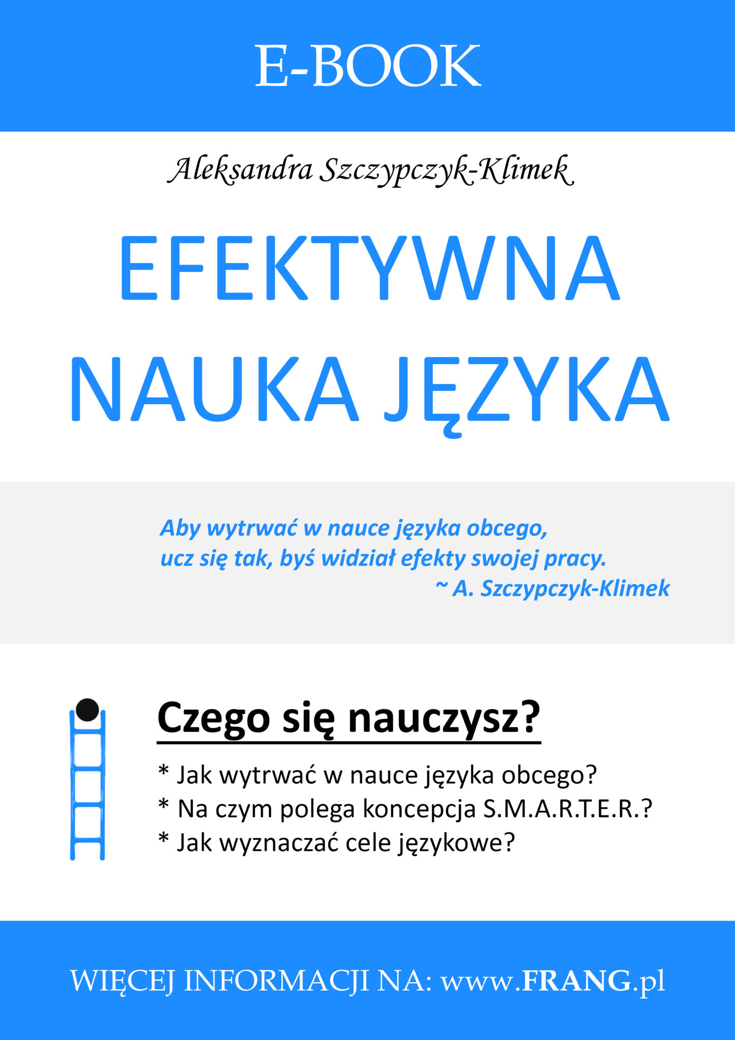 Efektywna nauka języka - ebook FRANG
